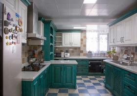 美式摩登厨房欣赏