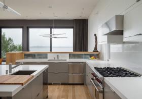 现代不锈钢厨房设计