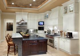 美式典雅厨房设计
