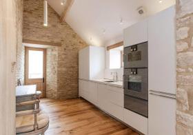 混搭砖头厨房设计