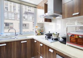 现代公寓厨房细节