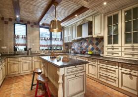 美式古旧厨房欣赏