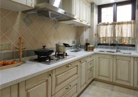 美式雕刻厨房细节