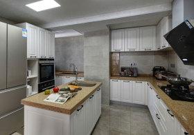 简欧岛型厨房设计