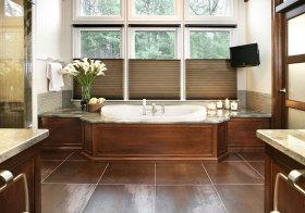 美式实木卫生间设计