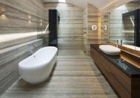 现代大理石卫生间造型