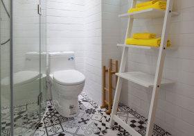 北欧楼梯卫生间细节