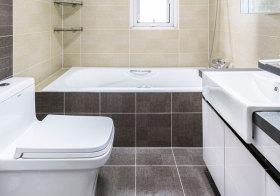 简约瓷砖卫生间细节
