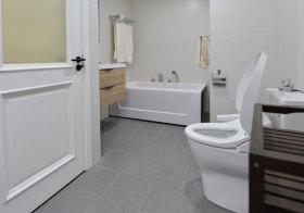 美式现代化卫生间细节