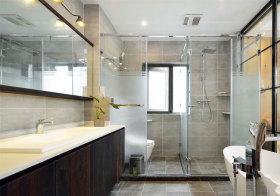 现代玻璃卫生间欣赏