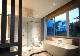 现代别墅卫生间欣赏