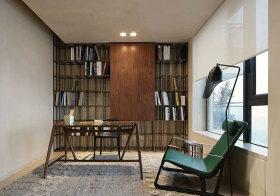 混搭极简书房设计