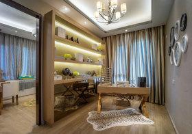 欧式金色书房设计