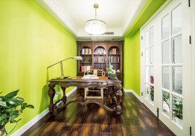 欧式绿色书房设计