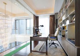 现代玻璃书房设计
