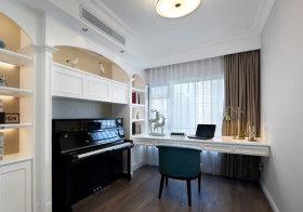 简欧钢琴书房欣赏