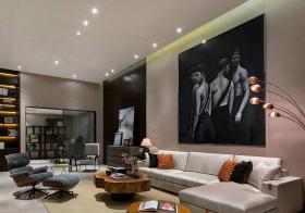 现代混搭客厅设计