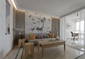 中式水墨画客厅设计