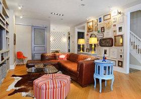 混搭彩色客厅欣赏