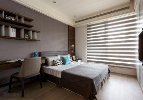 宜家棕色卧室欣赏