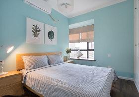 宜家天蓝卧室美图