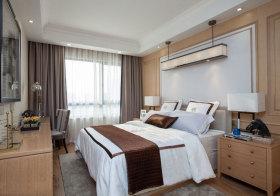 美式原木卧室创意