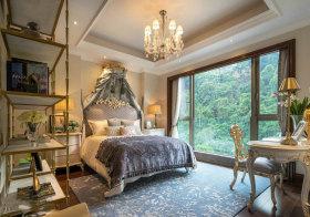 欧式山林卧室设计