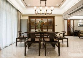 中式别墅餐厅设计