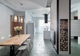 宜家木头餐厅美图