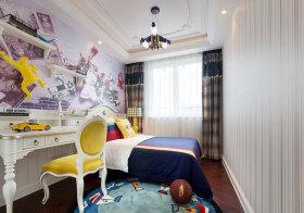 欧式彩色儿童房欣赏
