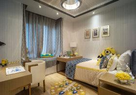 简约小黄人儿童房设计