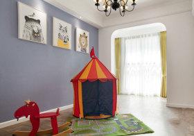 宜家帐篷儿童房美图