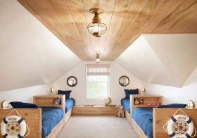 美式木质阁楼欣赏