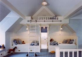 欧式儿童房阁楼设计