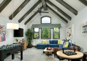 混搭客厅阁楼设计