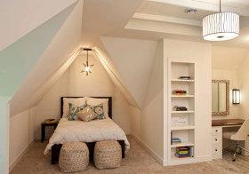 欧式卧室阁楼欣赏