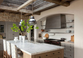 美式原始厨房美图