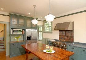 美式复古厨房欣赏