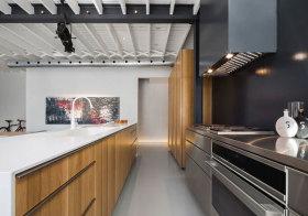 简约金属厨房美图