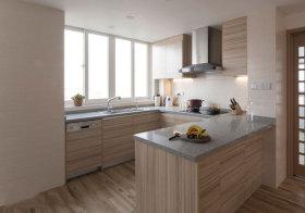 简约木质厨房欣赏