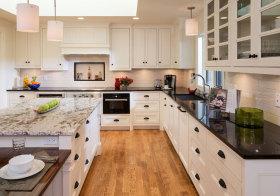 美式白色厨房美图