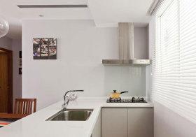 现代小户型厨房实景