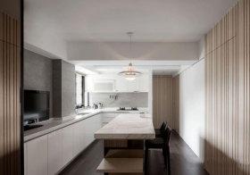 宜家清爽厨房设计