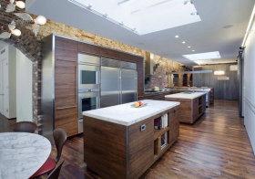 混搭木色厨房设计