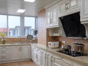 简欧雕刻厨房橱柜设计