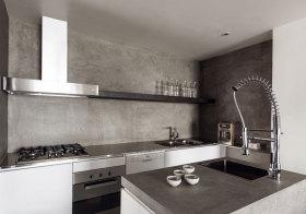轻工业水泥厨房欣赏