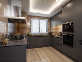 混搭灰色厨房橱柜欣赏