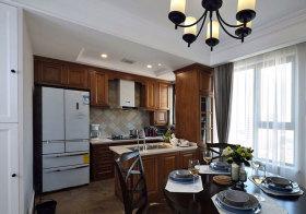 美式半开放厨房设计