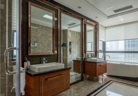 欧式亮晶晶浴室柜欣赏