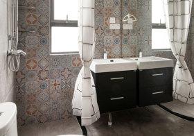 轻工业混搭浴室柜设计
